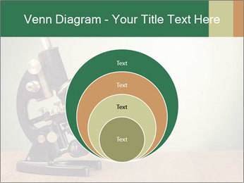 Vintage microscope PowerPoint Template - Slide 34