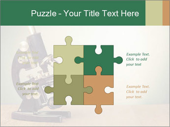 Vintage microscope PowerPoint Template - Slide 43
