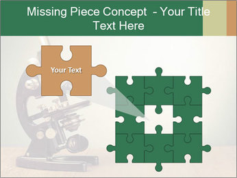 Vintage microscope PowerPoint Template - Slide 45