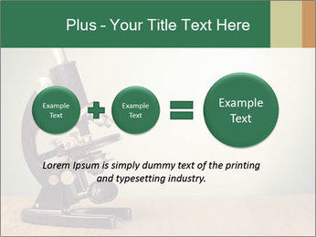 Vintage microscope PowerPoint Template - Slide 75