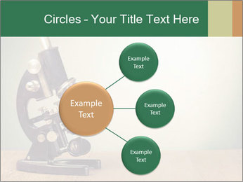 Vintage microscope PowerPoint Template - Slide 79