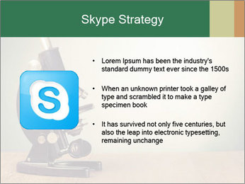 Vintage microscope PowerPoint Template - Slide 8