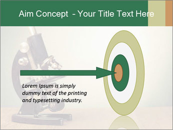 Vintage microscope PowerPoint Template - Slide 83