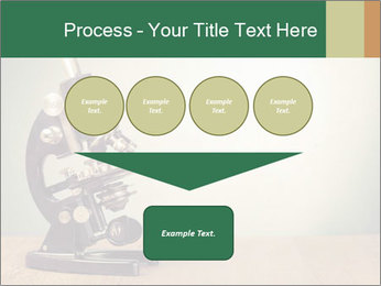 Vintage microscope PowerPoint Template - Slide 93