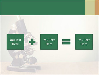 Vintage microscope PowerPoint Template - Slide 95