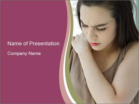 Shoulder pain PowerPoint Templates