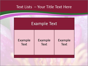 Pink water lily PowerPoint Templates - Slide 59