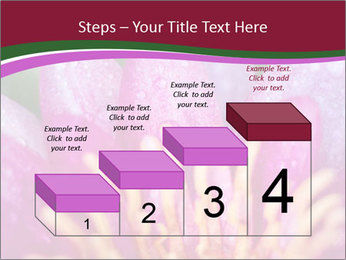 Pink water lily PowerPoint Templates - Slide 64