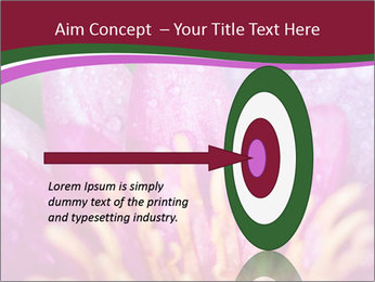 Pink water lily PowerPoint Templates - Slide 83