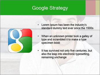 Mid adult man PowerPoint Templates - Slide 10