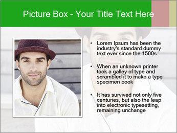 Mid adult man PowerPoint Template - Slide 13