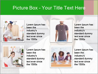 Mid adult man PowerPoint Template - Slide 14