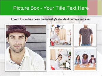 Mid adult man PowerPoint Templates - Slide 19
