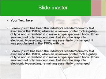 Mid adult man PowerPoint Templates - Slide 2