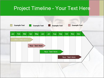 Mid adult man PowerPoint Templates - Slide 25