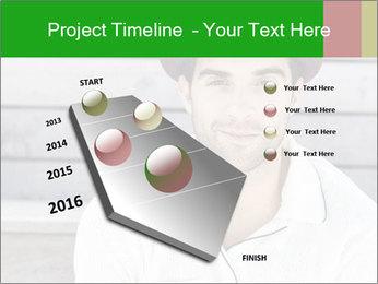 Mid adult man PowerPoint Templates - Slide 26
