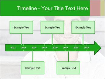 Mid adult man PowerPoint Template - Slide 28