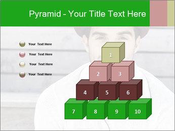Mid adult man PowerPoint Templates - Slide 31
