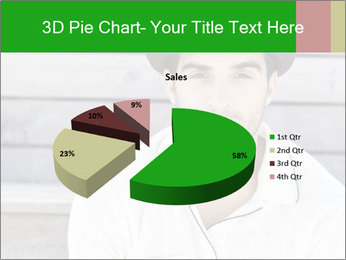 Mid adult man PowerPoint Templates - Slide 35