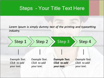 Mid adult man PowerPoint Template - Slide 4