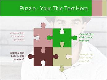 Mid adult man PowerPoint Templates - Slide 43