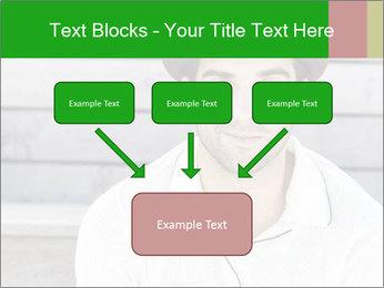 Mid adult man PowerPoint Template - Slide 70