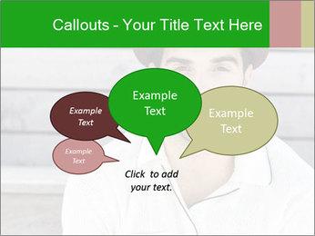 Mid adult man PowerPoint Templates - Slide 73