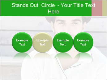 Mid adult man PowerPoint Templates - Slide 76