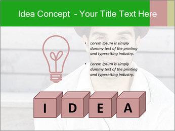 Mid adult man PowerPoint Templates - Slide 80