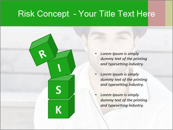 Mid adult man PowerPoint Template - Slide 81