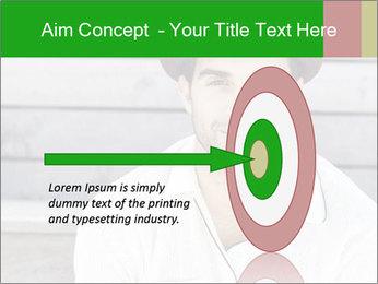 Mid adult man PowerPoint Template - Slide 83