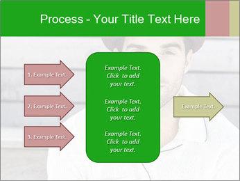 Mid adult man PowerPoint Template - Slide 85
