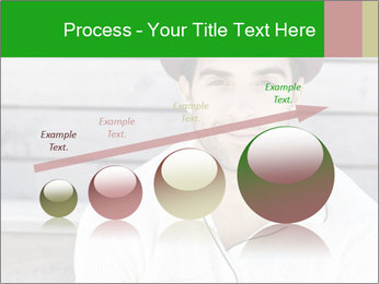 Mid adult man PowerPoint Templates - Slide 87