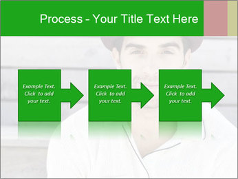 Mid adult man PowerPoint Templates - Slide 88