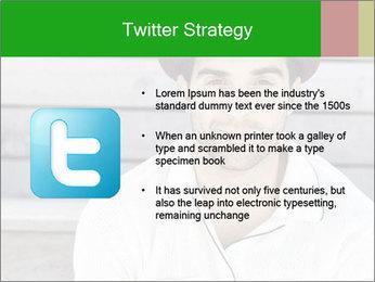 Mid adult man PowerPoint Templates - Slide 9