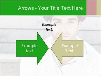 Mid adult man PowerPoint Templates - Slide 90