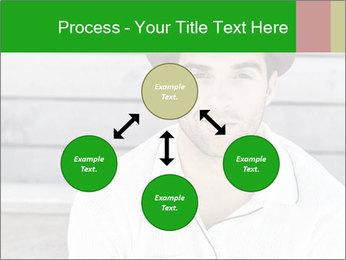 Mid adult man PowerPoint Template - Slide 91