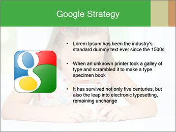 Cute little girl PowerPoint Templates - Slide 10