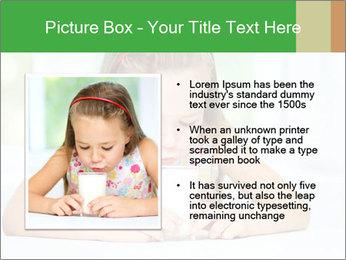 Cute little girl PowerPoint Templates - Slide 13