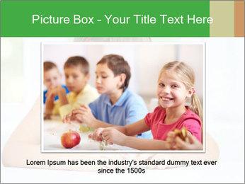 Cute little girl PowerPoint Templates - Slide 15