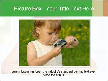 Cute little girl PowerPoint Templates - Slide 16