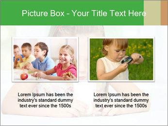 Cute little girl PowerPoint Templates - Slide 18