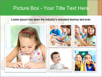 Cute little girl PowerPoint Templates - Slide 19