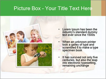 Cute little girl PowerPoint Templates - Slide 20