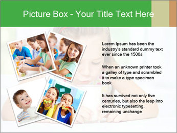 Cute little girl PowerPoint Templates - Slide 23