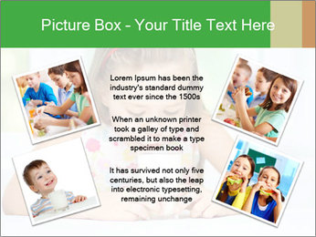 Cute little girl PowerPoint Templates - Slide 24
