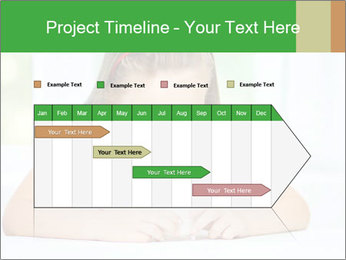 Cute little girl PowerPoint Templates - Slide 25