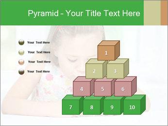 Cute little girl PowerPoint Templates - Slide 31