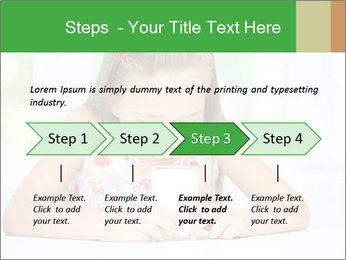 Cute little girl PowerPoint Templates - Slide 4
