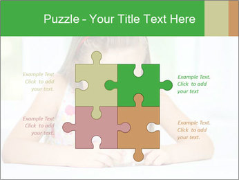 Cute little girl PowerPoint Templates - Slide 43